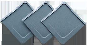 Aluminium losagnes in veel kleuren; aangebracht door De Felsfabriek